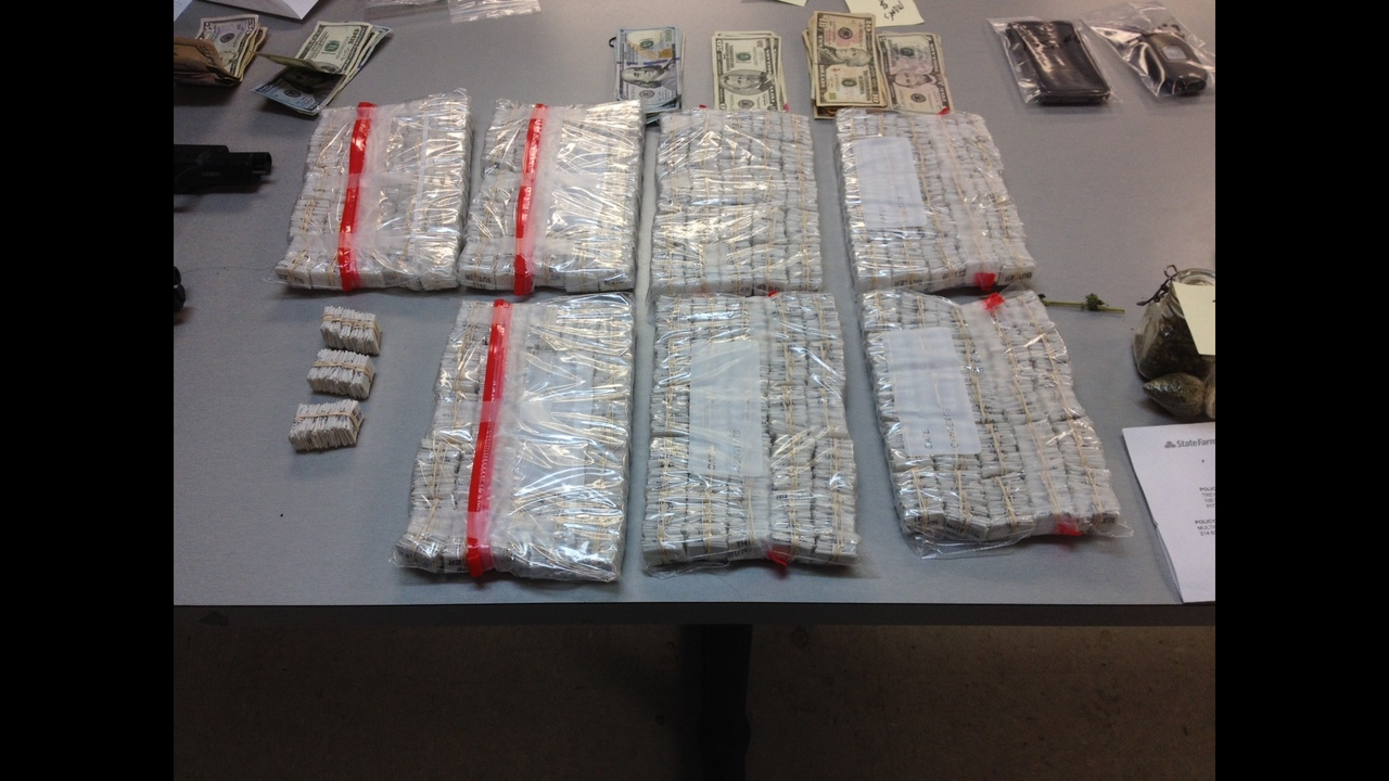 Police 9000 Stamp Bags Of Heroin Worth 135000 Found Inside Penn Hills Home