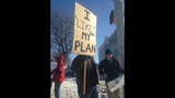 Protesters gather at site of Pres. Obama visit - (3/4)