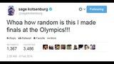 Gold medalist Sage Kotsenburg's tweets - (7/12)