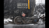 Photos from scene of Vandergrift train derailment - (10/14)