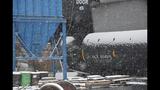 Photos from scene of Vandergrift train derailment - (1/14)