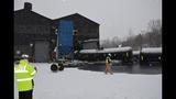 Photos from scene of Vandergrift train derailment - (4/14)