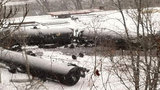 Photos from scene of Vandergrift train derailment - (3/14)