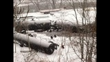 Photos from scene of Vandergrift train derailment - (13/14)