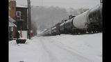 Photos from scene of Vandergrift train derailment - (9/14)