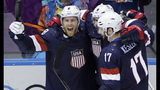 U.S. hockey team defeats Russia in thrilling shootout - (9/25)