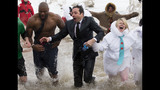Photos: Jimmy Fallon takes the Polar Plunge - (3/10)