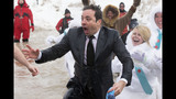 Photos: Jimmy Fallon takes the Polar Plunge - (10/10)