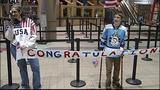 PHOTOS: Local Paralympic gold medalist returns home - (7/19)