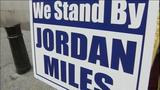 PHOTOS: Jordan Miles supporters rally outside… - (8/10)