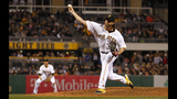 GAME PHOTOS: Pirates 4, Cubs 3 (16 innings) - (14/19)