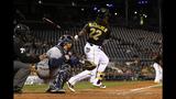 GAME PHOTOS: Pirates defeat Brewers 11-2 - (21/22)