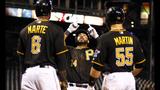GAME PHOTOS: Pirates defeat Brewers 11-2 - (1/22)
