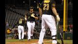 GAME PHOTOS: Pirates defeat Brewers 11-2 - (6/22)
