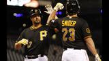 GAME PHOTOS: Pirates defeat Brewers 11-2 - (11/22)