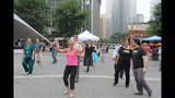 Ballroom dancing event held in Market Square - (1/25)