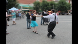 Ballroom dancing event held in Market Square - (6/25)