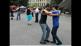 Ballroom dancing event held in Market Square - (19/25)