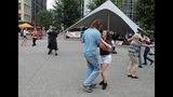 Ballroom dancing event held in Market Square - (16/25)