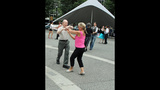 Ballroom dancing event held in Market Square - (11/25)