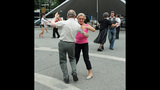 Ballroom dancing event held in Market Square - (8/25)