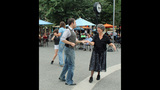 Ballroom dancing event held in Market Square - (5/25)