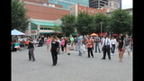 Ballroom dancing event held in Market Square - (17/25)