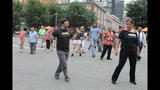 Ballroom dancing event held in Market Square - (23/25)
