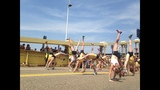 Hundreds of gymnasts set cartwheel world… - (15/20)
