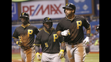GAME PHOTOS: Pirates defeat Rays 8-1 - (19/20)