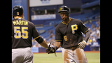 GAME PHOTOS: Pirates defeat Rays 8-1 - (5/20)