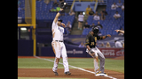 GAME PHOTOS: Pirates 6, Rays 5 - (5/19)