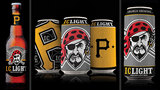 Pirates-themed Iron City beer cans - (9/17)