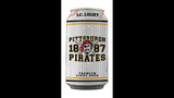 Pirates-themed Iron City beer cans - (1/17)