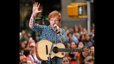 Ed Sheeran Performs On The Today Show - (8/11)