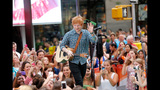 Ed Sheeran Performs On The Today Show - (2/11)