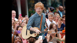 Ed Sheeran Performs On The Today Show - (10/11)