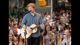 Ed Sheeran Performs On The Today Show - (9/11)