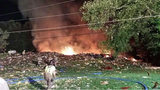 Images from scene of Beaver Co. house explosion - (10/13)