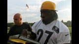 Photos: Steelers' night practice at Latrobe… - (22/25)