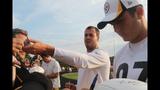 Photos: Steelers' night practice at Latrobe… - (18/25)
