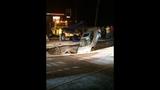 PHOTOS: Massive sinkhole swallows car - (7/25)