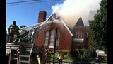 PHOTOS: Flames, smoke shoot from Allentown church - (11/25)