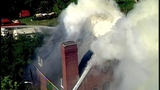 PHOTOS: Flames, smoke shoot from Allentown church - (23/25)