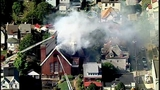 PHOTOS: Flames, smoke shoot from Allentown church - (21/25)