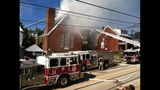 PHOTOS: Flames, smoke shoot from Allentown church - (25/25)