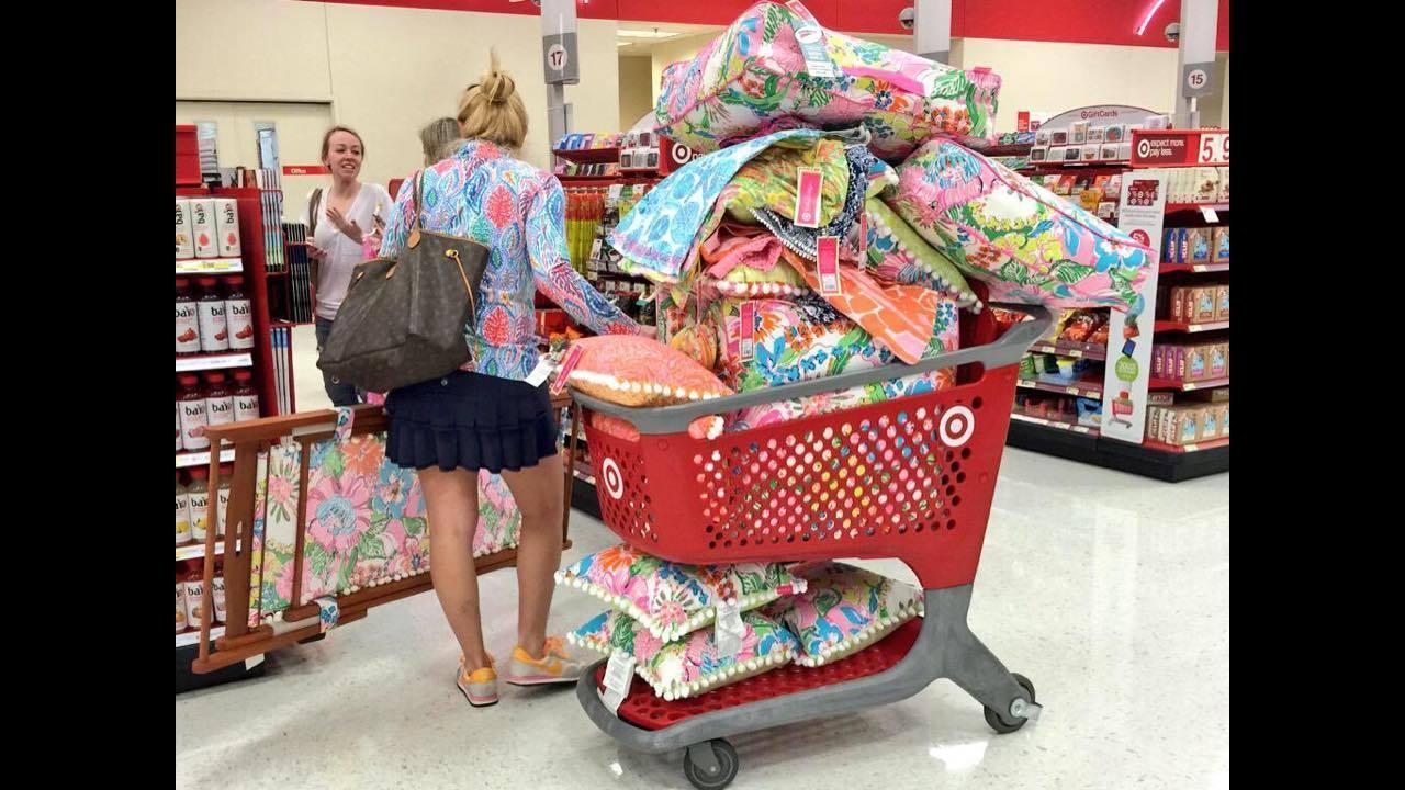 air jordan shopping frenzy at target
