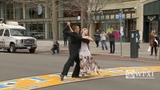 Ballroom dancer returns to Boston Marathon finish line_7184570