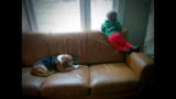 Luke with Moe the dog_7419465