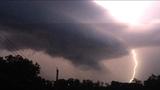 Lightning strike over Penn Hills High School _7461259
